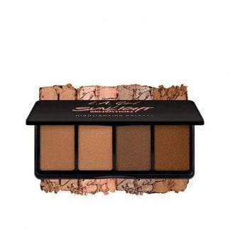 LA Girl Fanatic Highlight Palette Sunlight Sensation