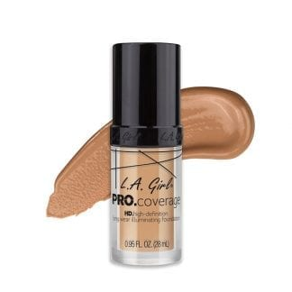 LA Girl Pro Coverage Foundation Natural