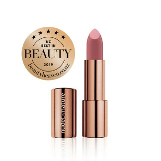 Nude by Nature Moisture Shine Lipstick 03 Dusty Rose