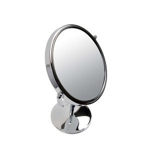 Silver Mirror_Round on Stand_7x Magnifying