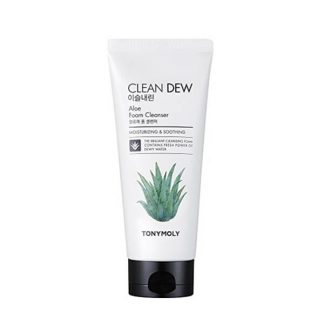 Tony Moly Clean Dew Foam Cleanser Aloe